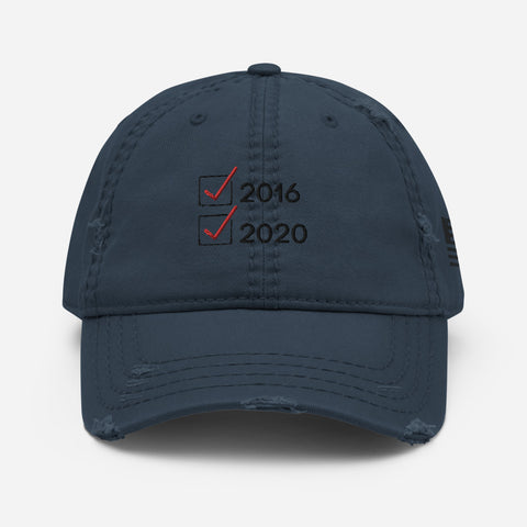 2016-2020 Trump - Distressed Hat