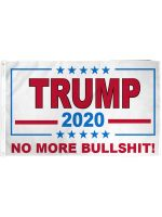 TRUMP (NO MORE BS) FLAG 3X5FT POLY