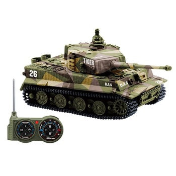 Remote Control German Mini Tiger Tank-remote control tanks battle-remote control tanks-remote control toy tanks-theradiowar