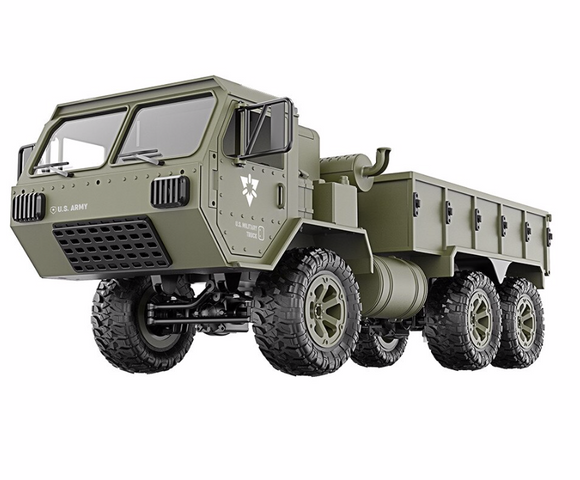 RC Vehicle US Military Truck-remote control army truck-RC toy trucks-RC WW2-theradiowar