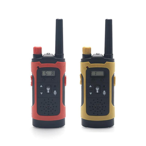 2PCS Mini 200-300M Kids Walkie Talkies-theradiowar-theradiowar