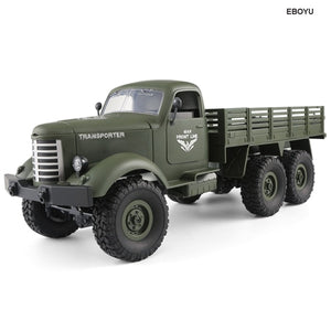 RC Truck 2.4G 6WD Off-road-remote control army truck-RC toy trucks-RC WW2-theradiowar