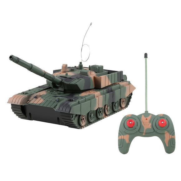 RC Mini Tank 4CH l Turret Rotation Light & Music Remote Control Model-remote control tanks battle-remote control tanks-remote control toy tanks-theradiowar