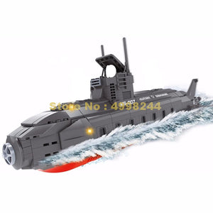 502pcs Navy Warships Submarine Bricks Toy-remote control submarine-remote control submarine toys-best remote control submarine-theradiowar