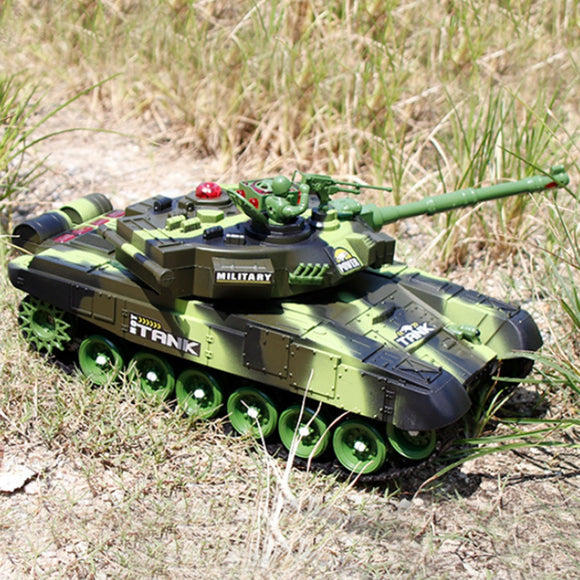 Rc War Tank Model Sound & Recoil-remote control tanks battle-remote control tanks-remote control toy tanks-theradiowar
