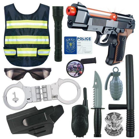 Children Role Play Police Kit-theradiowar-theradiowar