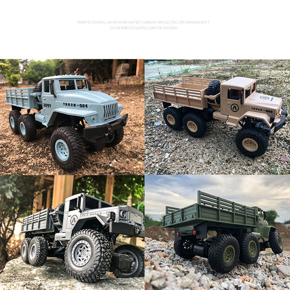 RC Car Military Truck 2.4G Off-road Climbing Vehicle-remote control army truck-RC toy trucks-RC WW2-theradiowar