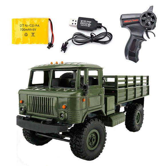 Remote Control Military Truck Off-Road 4WD-remote control army truck-RC toy trucks-RC WW2-theradiowar