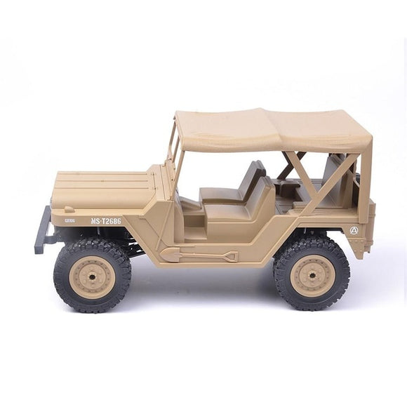 2.4G 4WD RC Car With Head Light RTRk-remote control army truck-RC toy trucks-RC WW2-theradiowar