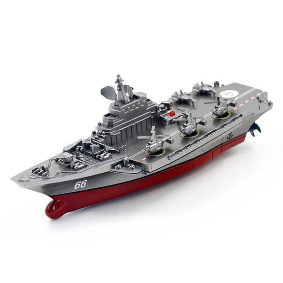 Remote Control Military Warship Waterproof-Remote control battleship-remote control boat for pools-remote control toy boat-theradiowar