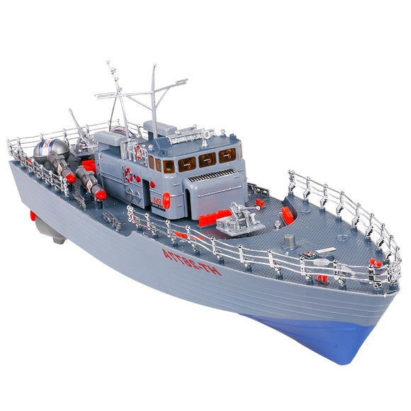 RC Boat Destroyer WarShip Military Naval Vessels-Remote control battleship-remote control boat for pools-remote control toy boat-theradiowar