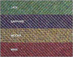 Available Colors. Jade. Mocha. Sapphire. Wine.