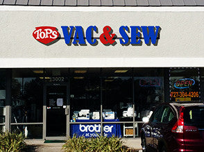 Tops Vacuum & Sewing - Largo