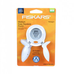Fiskars<sup>®</sup> Hexagon Squeeze Punch