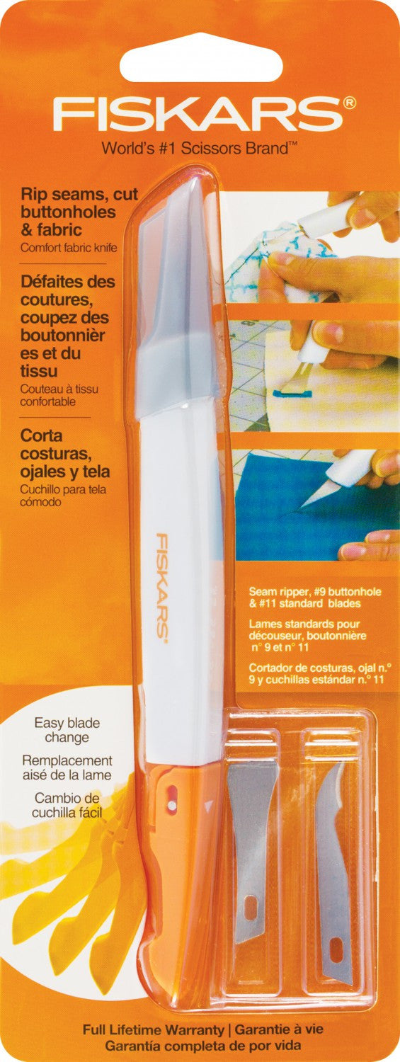 Fiskars<sup>®</sup> Easy Change Fabric Knife