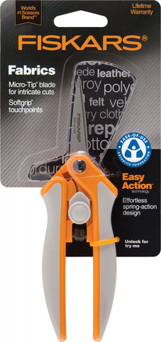 Fiskars<sup>®</sup> 5-Inch Easy Action Micro Tip Scissors