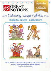 Great Notions Embroidery Design Collection - Image By Design - Collection 2