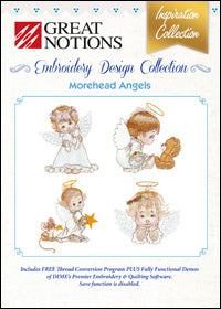 Great Notions Embroidery Design Collection - Morehead Angels