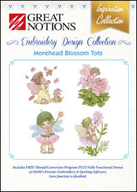 Great Notions Embroidery Design Collection - Morehead Blossom Tots
