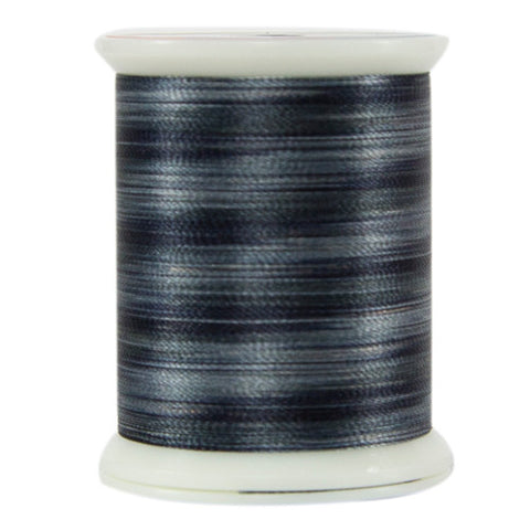 Superior Threads - Fantastico Variegated Polyester Thread - Black Sand