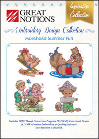 Great Notions Embroidery Design Collection - Morehead Summer Fun