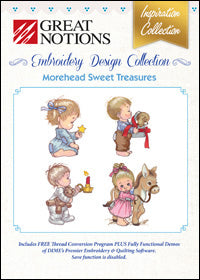 Great Notions Embroidery Design Collection - Morehead Sweet Treasures
