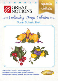 Great Notions Embroidery Design Collection - Susan Schmitz Fruit