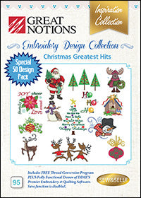 Great Notions Embroidery Design Collection - Christmas Greatest Hits