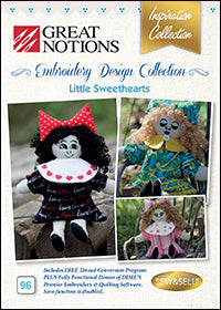 Great Notions Embroidery Design Collection - Little Sweethearts