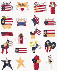 Floriani Embroidery Designs - Americana Applique