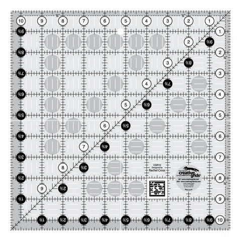 Creative Grids Quilt Ruler 10.5""