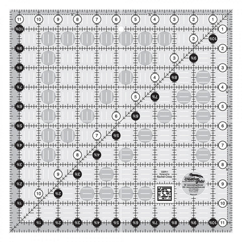 Creative Grids Quilt Ruler 11.5""