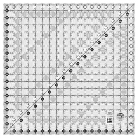 Creative Grids Quilt Ruler 18.5""