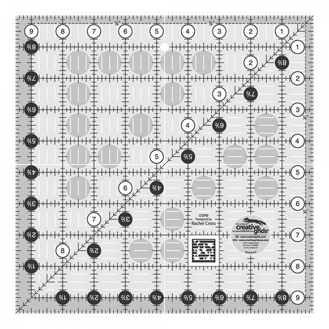 Creative Grids Quilt Ruler 9.5""