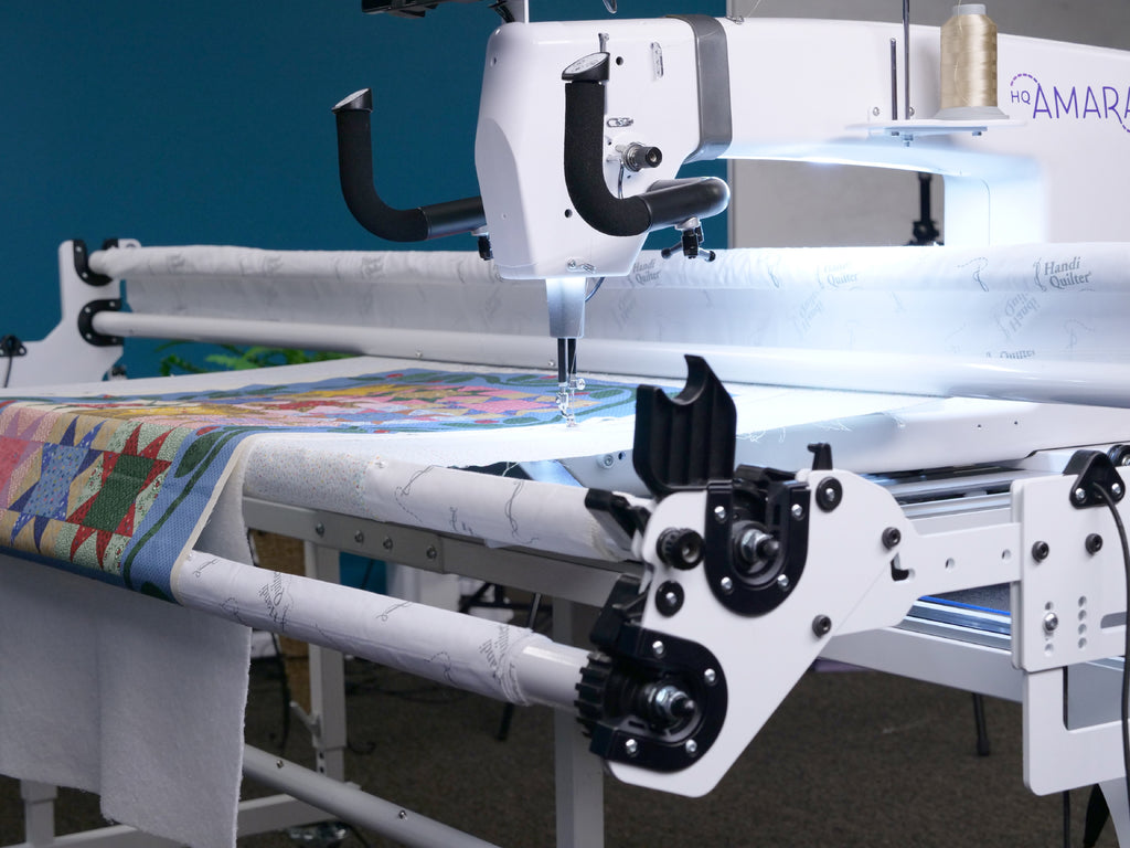 The Hq Amara 20 Longarm Quilter Tops Sewing Amp Quilting
