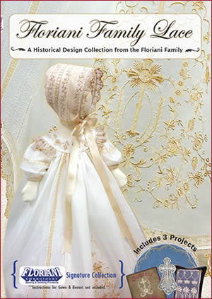 Floriani Embroidery Designs - Floriani Family Lace