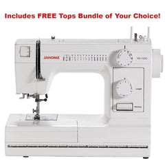 Janome HD1000 Heavy Duty Mechanical Sewing Machine With Dust Cover