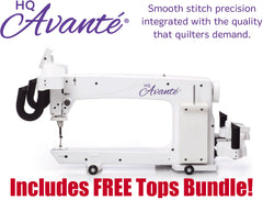 The HQ Avanté® 18-Inch Longarm Quilter