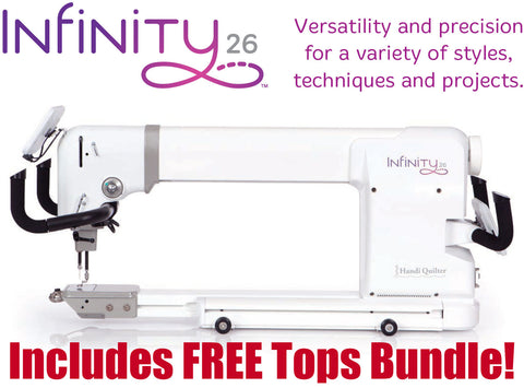 The HQ Infinity 26 Longarm Quilter
