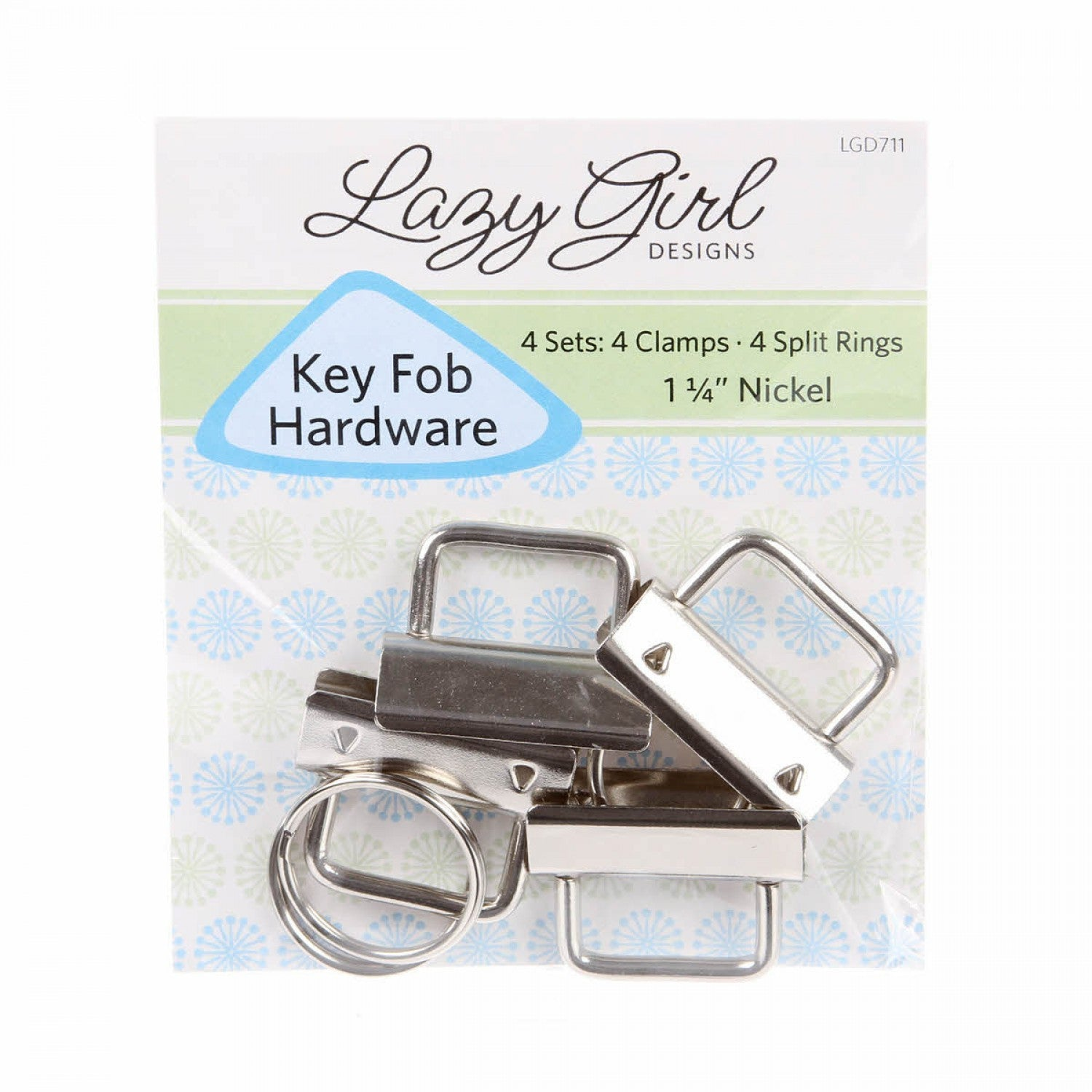 Lazy Girl Designs Key Fob Hardware