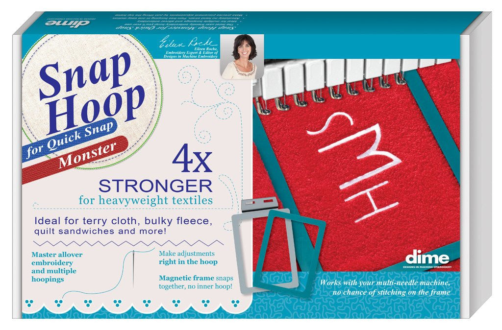 "DIME Snap Hoop Monster for Quick Snap GH2 - 4"" x 4"""