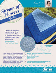 DIME shortE Stream of Flowers Quilts