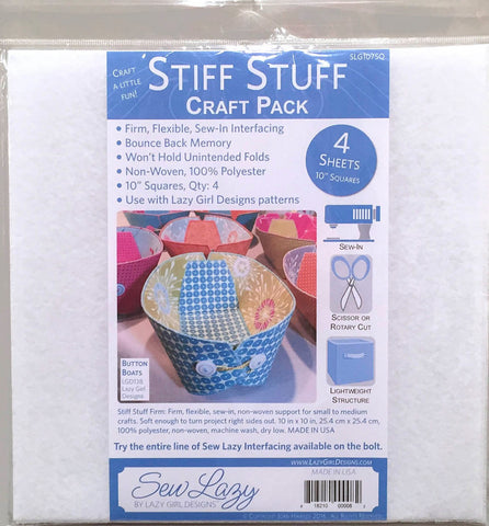 Lazy Girl Designs Stiff Stuff Craft Pack