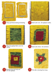 DIME Stipple! One-Step Quilting & Appliqué - Ho Ho Holiday