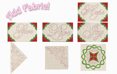 DIME Stipple! One-Step Quilting & Appliqué - Holiday 2