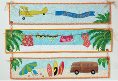 DIME Stipple! One-Step Quilting & Appliqué - Life's a Beach
