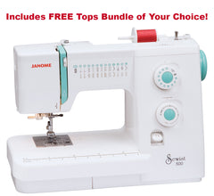 Janome Sewist 500 Mechanical Sewing Machine With Hard Cover