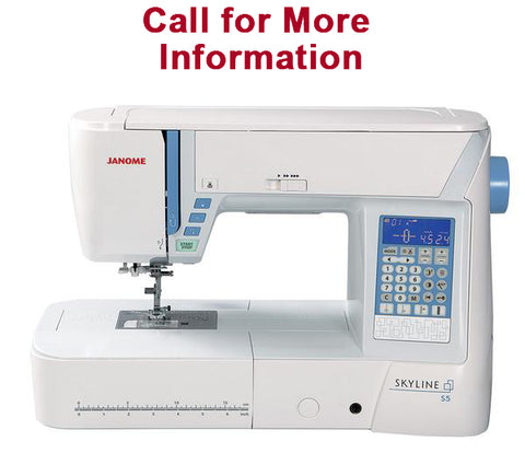 Janome Skyline S5 Computerized Sewing Machine