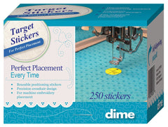 DIME Target Stickers