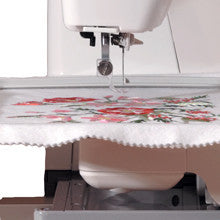 Janome Memory Craft 350E Embroidery Machine - Bank Vacuum Bundle Available!